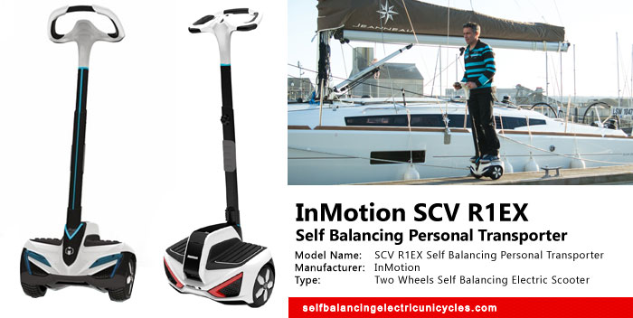 SCV R1EX Self Balancing Personal Transporter Review