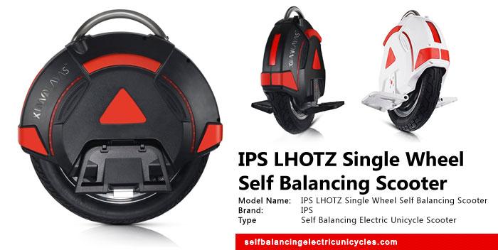 IPS LHOTZ Single Wheel Self Balancing Scooter Review