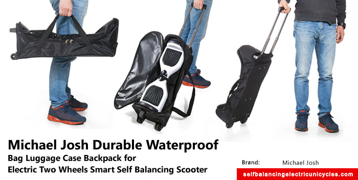 Cool Finds: Backpack With Trolley Mode Gor Electric Two Wheels Smart Self Balancing Scooter Board