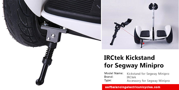 Cool Finds: IRCtek Kickstand for Segway Minipro